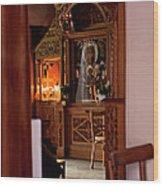 In Private Prayer Wood Print