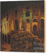 In Rome - In Love Wood Print