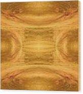 In The Beginning Wood Print by Joe Halinar