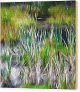 In The Bog Wood Print