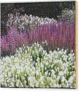 In The Garden Wood Print