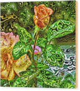 In The Garden Of Dreams Wood Print