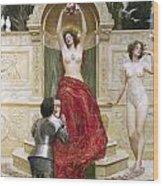 In The Venusburg Wood Print