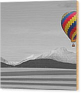 In Their Own World Colorado Ballooning Wood Print
