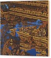 Inca Gold In The Galaxy Pawnshop. Wood Print