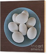 Incipient Egg Salad Wood Print