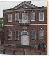 Independence Hall Philadelphia I Wood Print