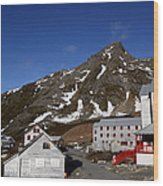 Independence Mine Wood Print
