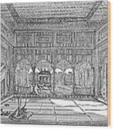India: Hindu Temple Wood Print