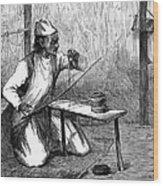 India: Pearl Borer, 1876 Wood Print
