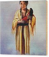 Indian Doll Wood Print