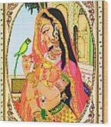 Indian Empress Wood Print
