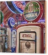 Indian Gasoline Wood Print