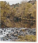 Indian Summer At Brandywine Creek Wood Print