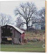 Indiana Wood Print