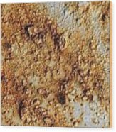 Industrial Corrosion Wood Print