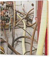 Industrial Interior Wood Print