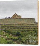 Ingapirca Inca Ruins   Ecuador Wood Print