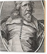 Inigo Jones, British Architect Wood Print
