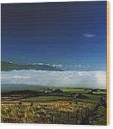 Inishowen, Co Donegal, Ireland Mist Wood Print