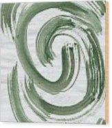 Inner Hurricane Wood Print