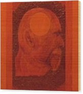 Inner Space Or The Dot Within Wood Print by Gilbert Bernhardt