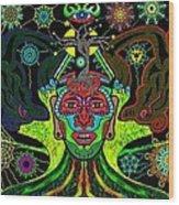 Innerspace Dreambeing Wood Print