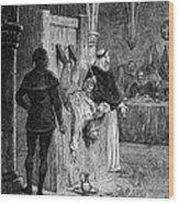 Inquisition: Torture Wood Print by Granger
