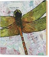 Insect Art - Voice Of The Heart Wood Print