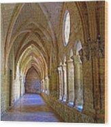 Inside A Monastery  Wood Print