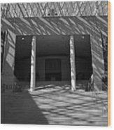 Inside Edmonton City Hall Wood Print