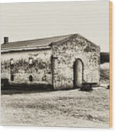 Inside Fort Mifflin - Phildalphia Wood Print