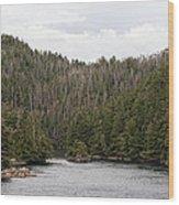 Inside Passage - Alaska Wood Print