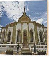 Inside The Grand Palace Bangkok Image 2 Wood Print