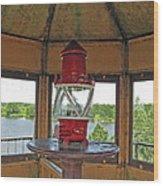 Inside The Lighthouse Tower #3. Uostadvaris. Lithuania. Wood Print