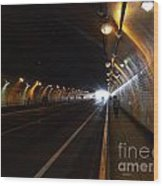 Inside The Stockton Street Tunnel In San Francisco . 7d7363.3 Wood Print