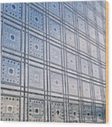 Institut Du Monde Arabe  Wood Print
