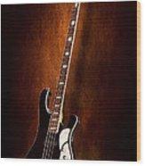 Instrument - Guitar - High Strung Wood Print