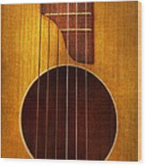 Instrument - Guitar - Let's Play Some Music  Wood Print