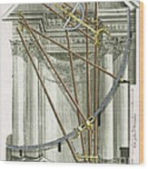 Instruments From A Viennese Observatory Wood Print