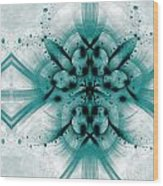 Intelligent Design 2 Wood Print by Angelina Vick