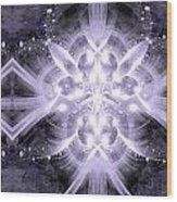 Intelligent Design 4 Wood Print by Angelina Vick