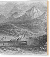 Inter-oceanic Railroad Wood Print