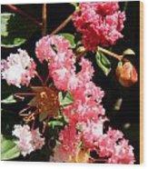 Interesting Flowers Wood Print