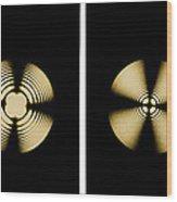 Interference Patterns Wood Print