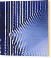 Interference Waves Wood Print