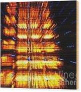 Intergalactica Wood Print