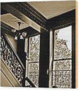 Interior Elegance Lost In Time Wood Print