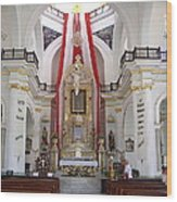Interior Of Our Lady Of Guadalupe  Wood Print