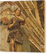 Interior San Xavier Del Bac Wood Print